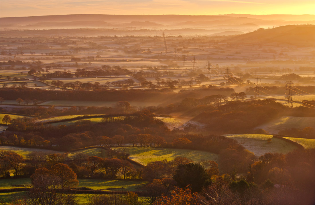 The Marshwood Vale in Autumn.