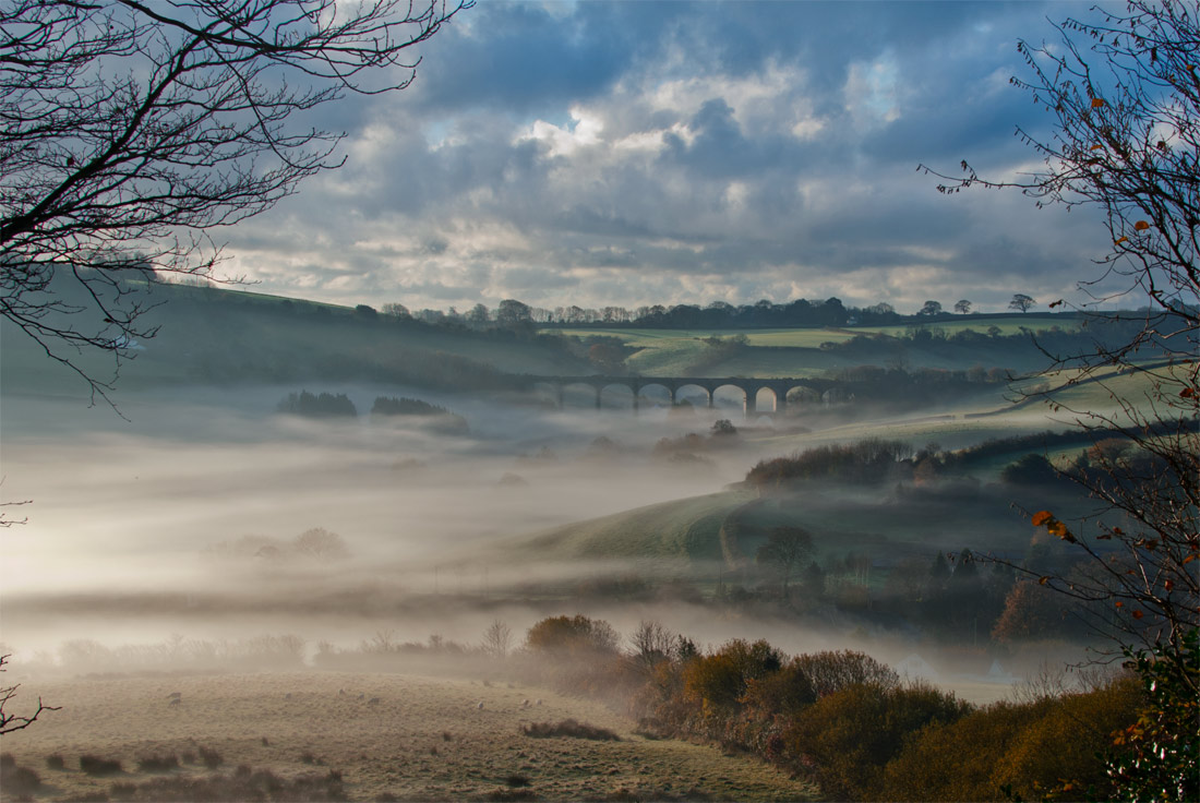 Misty Viaduct, Uplyme.