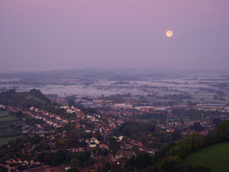 Supermoon Glastonbury