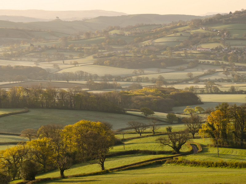 The Marshwood Vale, Dorset by Kerrie Ann Gardner