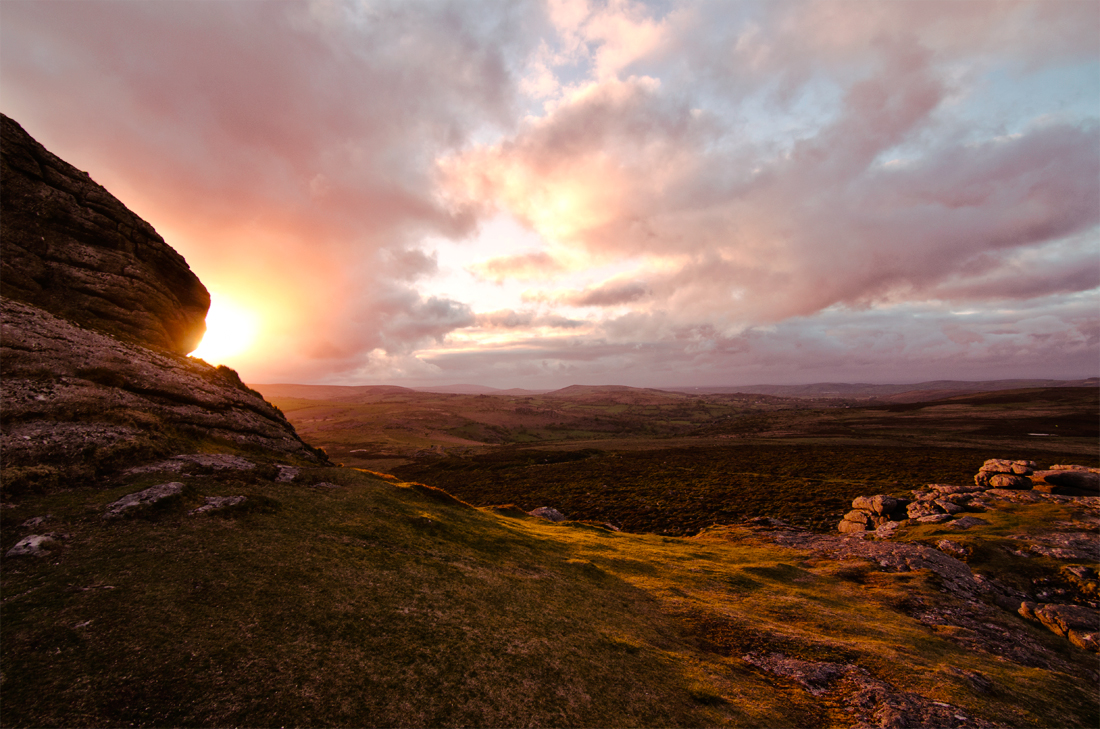 Haytor Sunset Dartmoor